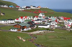 Porkeri (faroe islands) the village.JPG