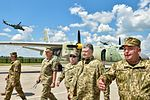Poroshenko Chuhuiv air base Mil Mi-24 Antonov An-26 Ukraine Air Forces.jpg