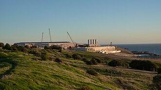 Seawater desalination in Australia - Construction of Adelaide Desalination Plant
