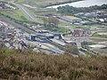 Port Talbot Parkway station from Mynydd Dinas (geograph 4941732).jpg
