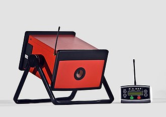 Industrial radiography - A portable wireless controlled battery powered X-ray generator for use in non-destructive testing and security.