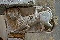 Portale romanico a Santa Croce Venezia capitello a destra.jpg