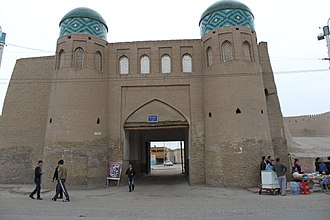 Khivan campaign of 1873 - North Gate of Khiva