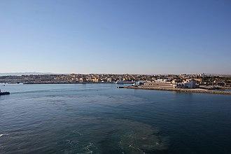 Porto Torres - Image: Porto Torres, panorama (02)