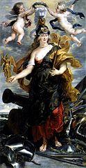 Portrait de Marie de Médicis en Bellone