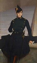 Portrait of Claude-Armand Gérôme, brother of the artist
