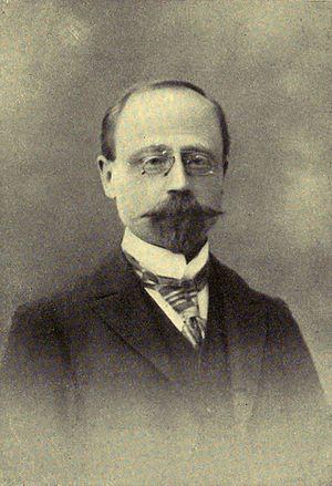 Théodore Eugène César Ruyssen - Image: Portrait of Théodore Eugène César Ruyssen
