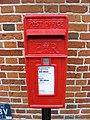 Postbox, Corner Cottage, Rendham - geograph.org.uk - 1404933.jpg