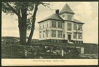 Stafford, Connecticut - Pinney Grammar School, about 1909