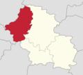 Powiat górowski - lokalizacja gminy Niechlów.png