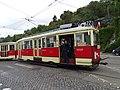 Průvod tramvají 2015, 15a - tramvaj 3083 a 1583.jpg