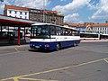 Praha, Na Knížecí, Karosa C 954, Arriva Praha, D91 do Sedlčan (01).jpg
