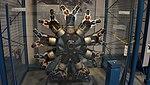 Pratt & Whitney R-1340-NA-1 engine front view at Kakamigahara Aerospace Science Museum November 2, 2014.jpg