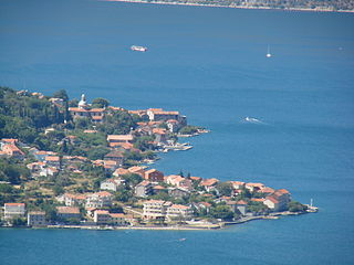 Prčanj Town in Montenegro