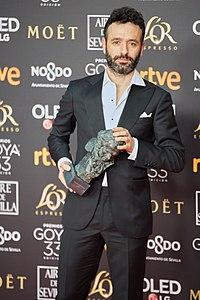 Premios Goya 2019 - Rodrigo Sorogoyen Goya.jpg