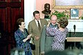 President Reagan and Nancy Reagan present Pianist Vladimir Horowitz with the Medal of Freedom in the Roosevelt room.jpg