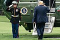 President Trump Departs for North Carolina (48314829681).jpg