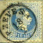 Prevesa Austrian 1 10 sld 1870.jpg