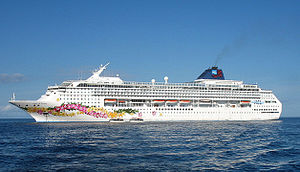 Norwegian Sky - Pride of Aloha in Cozumel, Mexico.