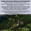 Prime Minister Modi's greetings to the people of Meghalaya on their Statehood Day (2).jpg