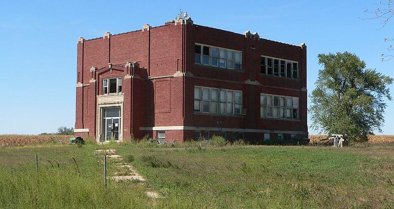 Fileprimrose nebraska abandoned school 1jpg wikimedia for Sch ne küchen