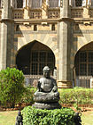 Prince of wales Museum exterior buddha.jpg