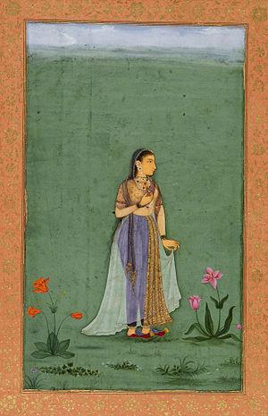 Tomb of Nadira Begum - Image: Princess Nadira Banu Begum