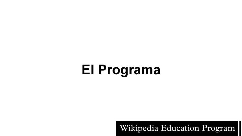 File:Programa de Educación de Wikipedia - Iberoconf 2014.pdf