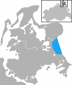 Prorer Wiek - The location of the Prorer Wiek