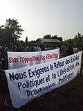 Protests in Cotonou, Benin, 4 April 2019.jpg