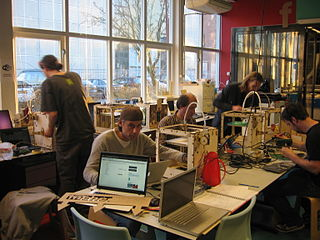 Protospace - a hackerspace; image via Wikimedia Commons