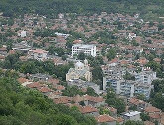 Provadia - Aerial view of Provadia