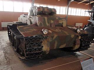Panzer I Ausf. F Light tank