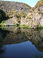 Quarry reflection - geograph.org.uk - 514544.jpg