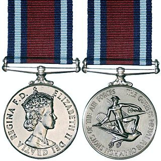 Queens Medal for Champion Shots of the Air Forces Award