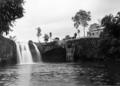 Queensland State Archives 1341 Mena Creek Falls Paronella Park Innisfail c 1935.png
