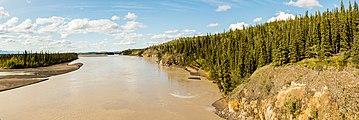 Río Tanana, Tok, Alaska, Estados Unidos, 2017-08-28, DD 171-174 PAN.jpg