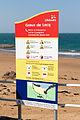 RNLI sign at Grève de Lecq bay, Jersey.JPG