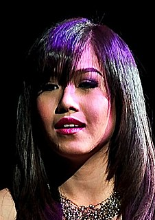 Rachelle Ann Go Filipino singer and international musical theater actress