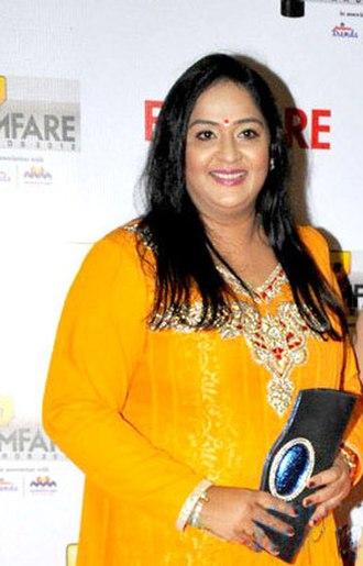 Radha (actress) - Radha at 60th South Filmfare Awards 2013