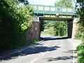 Railway bridge over The Street, West Horsley - geograph.org.uk - 51454.jpg