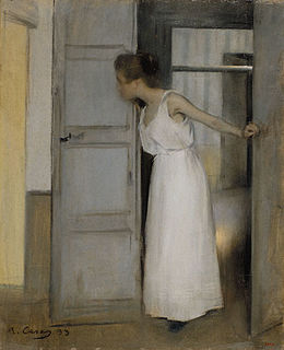 painting by Ramon Casas i Carbó