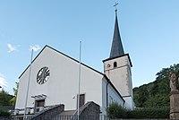 Ramsthal, Kirchgasse, Kirchturm D-6-72-142-1 20170711 002.jpg