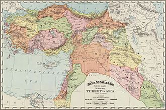 Vilayet - Image: Rand, Mc Nally & Co.'s new 14 x 21 map of Turkey in Asia, Asia Minor. Copyright 1895, by Rand, Mc Nally & Co. (Chicago, 1897)