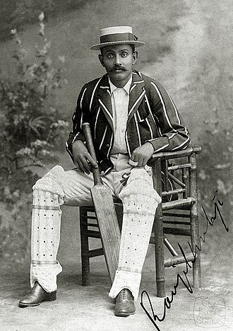 Cricket in India - Ranjitsinhji was regarded as one of the best batsmen of his time.