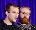 Raoul Barbet and Michel Koch of DONTNOD Entertainment (Life Is Strange) at GDC 2016 (cropped).jpg
