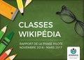 Rapport des Classes Wikipédia - Phase pilote (French).pdf