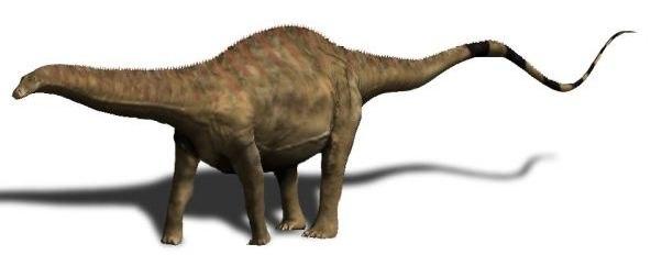 Rebbachisaurus BW