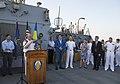 Reception with Ambassador Pyatt Aboard USS ROSS, July 24, 2016 (28477136722).jpg