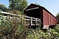 Red Covered Bridge, Princeton, Illinois (7881773738).jpg